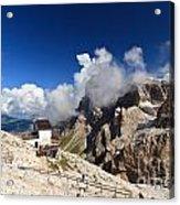 Rosetta Mount Acrylic Print
