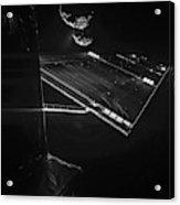 Rosettas Philae Lander At Comet 67pc-g Acrylic Print