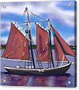 Roseway On Boston Harbor Acrylic Print