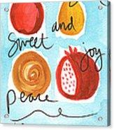 Rosh Hashanah Blessings Acrylic Print