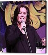 Rosie O'donnell Acrylic Print