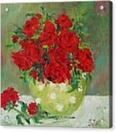 Rosses R Red Acrylic Print