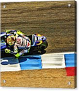 Rossi From Above Acrylic Print