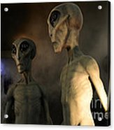 Roswell Visiting Hour Acrylic Print