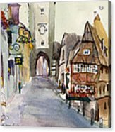 Rothenburg Acrylic Print