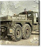 Rotinoff Tractor  Acrylic Print