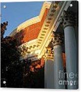Rotunda At The University Of Virginia Acrylic Print