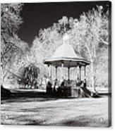 Rotunda Benalla Botanical Gardens Acrylic Print