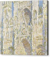 Rouen Cathedral West Facade Acrylic Print