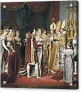 Rouget, Georges 1784-1869. The Marriage Acrylic Print