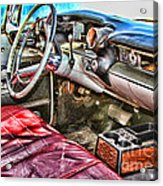Rough Riding By Diana Sainz Acrylic Print