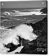 Rough Surf Acrylic Print