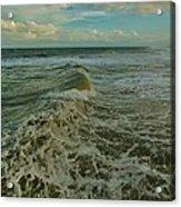 Rough Surf Hatteras 2 10/17 Acrylic Print