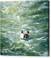 Rough Water Acrylic Print