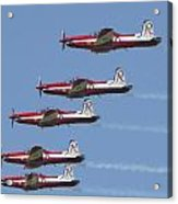 Roulettes In Tight Formation Acrylic Print
