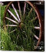 Round And Rusty Acrylic Print