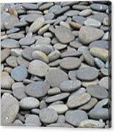 Round Rocks Acrylic Print