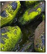 Rounded Rocks Acrylic Print