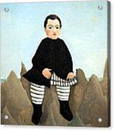 Rousseau's Boy On The Rocks Acrylic Print