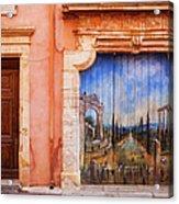 Roussillon Door Acrylic Print