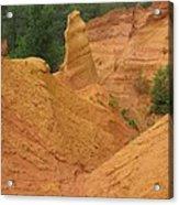 Roussillon Ochres Pigments Rock Acrylic Print