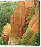 Roussillon - Red Rocks  Acrylic Print