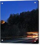 Route 6 Blur Acrylic Print