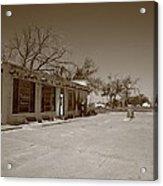 Route 66 - Bent Door Cafe Acrylic Print