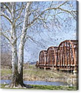 Route 66 Bridge Acrylic Print