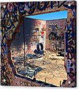 Route 66 Burnout Acrylic Print