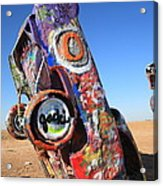 Route 66 Cadillac Ranch Acrylic Print
