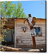 Route 66 Carcus Acrylic Print