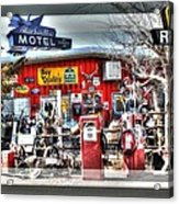 Route 66 Collage Acrylic Print