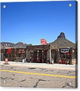 Route 66 - Cool Springs Camp Acrylic Print