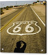 Route 66 Daggett California Acrylic Print