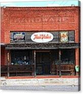 Route 66 - Hardware Store Erick Oklahoma Acrylic Print