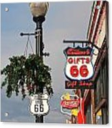 Route 66 In Williams Arizona Acrylic Print