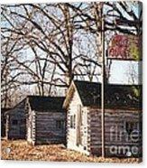 Route 66 John's Modern Cabins Acrylic Print