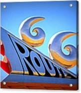 Route 66 Acrylic Print