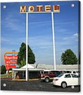 Route 66 - Munger Moss Motel Acrylic Print