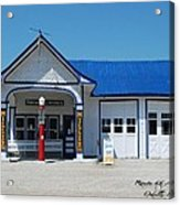 Route 66 Odell Il Gas Station 01 Acrylic Print