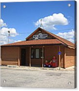 Route 66 - Old Log Cabin 3 Acrylic Print