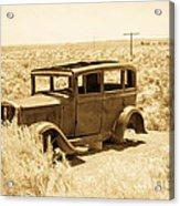 Route 66 Relic Acrylic Print