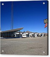 Route 66 - Roy's Cafe Acrylic Print