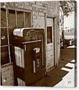Route 66 - Rusty Coke Machine 2 Acrylic Print