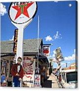 Route 66 - Seligman Arizona Acrylic Print