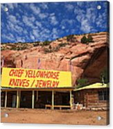 Route 66 Trading Post Acrylic Print