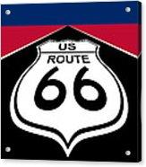 Route 66 - U. S. Acrylic Print