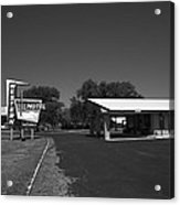 Route 66 - Western Motel 8 Acrylic Print