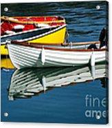 Row-boats Acrylic Print